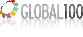 Global 100 logotyp